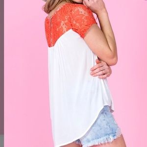 NWT Miss Me top